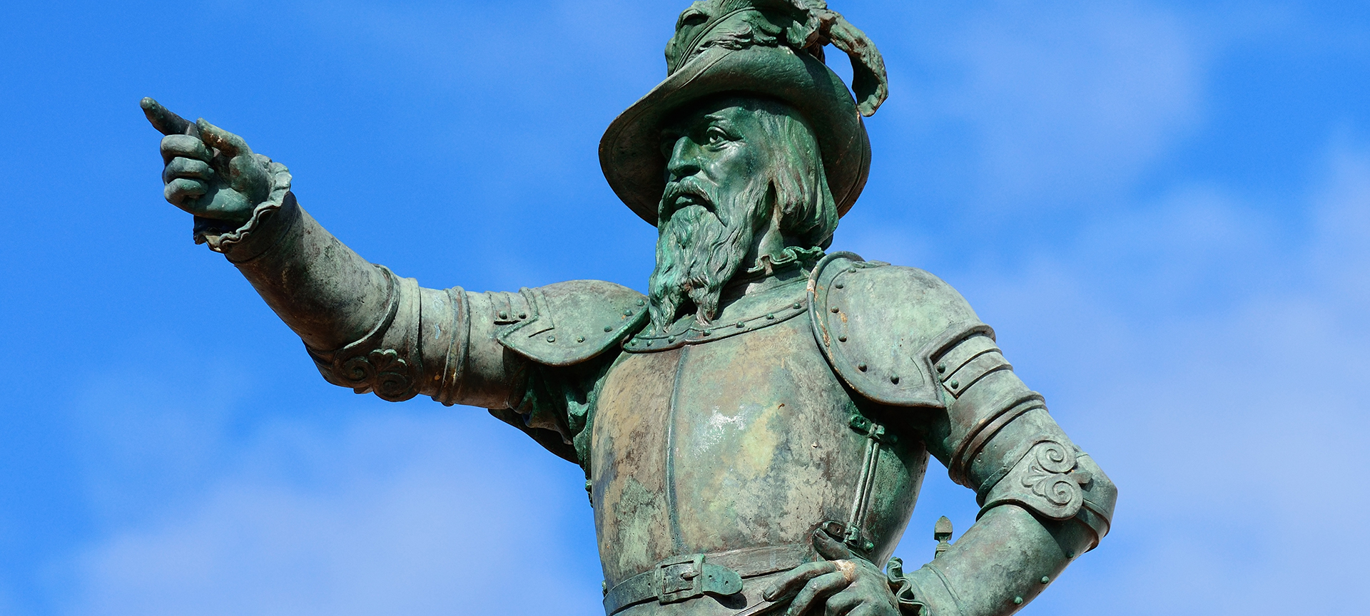 """On 2nd April 2 1513, Spanish explorer Juan Ponce de Leon and his crew sailed three ships north along the coast of present day Northeast Florida. Ponce de Leon planned to claim the land for Spain, and he looked for a good place to anchor so they could go ashore. At noon, his navigator Anton de Alaminos used an astrolabe, the most advanced equipment then available, to take a reading of their location. It was """"30 degrees and eight minutes"""", slightly south of present day Ponte Vedra Beach, at the northern border of the Guana Tolomato Matanzas National Estuarine Research Reserve."""