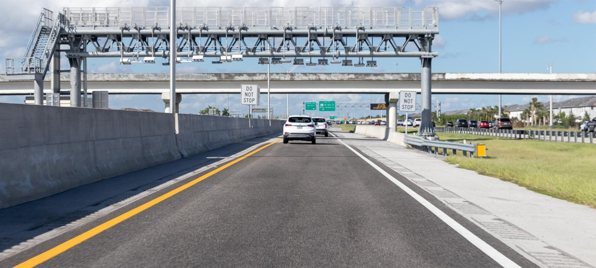 Florida's Turnpike System roads are constructed, operated and maintained through toll revenues collected from our customers. Every vehicle pays a toll that is generally based on the distance of the trip and the number of axles on the vehicle. Customers can choose to pay their tolls electronically using SunPass (the preferred method), another interoperable transponder, cash or Toll-by-Plate.