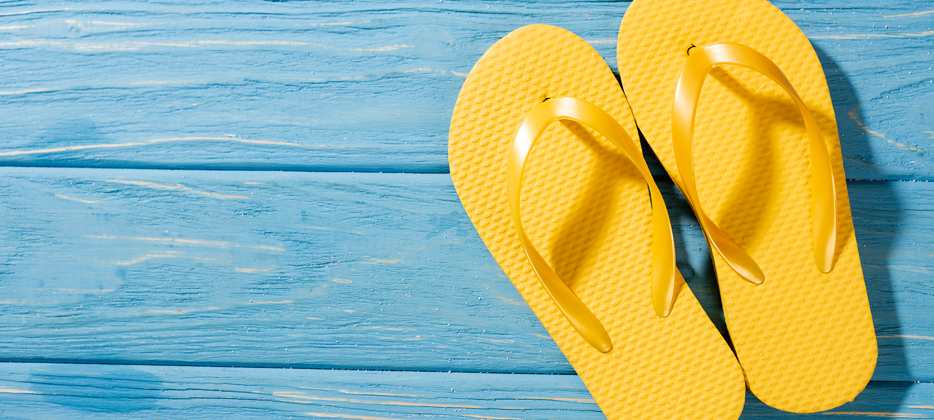 Flip flops are requisite Florida footwear that will take you from beach to restaurant in this laid-back state.