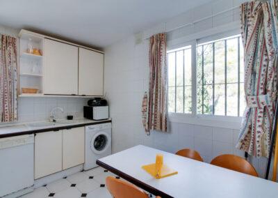 The kitchen at Apartamento De Lujo En Marbella, Nueva Andalucía