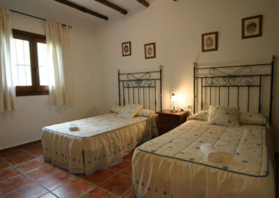 Bedroom #2 at Casa Benisalte, Órgiva