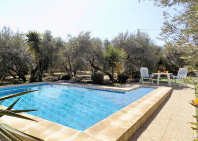 The swimming pool at Casa Benisalte, Órgiva