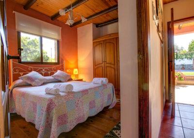 Bedroom #1 at Casa Buganvilla, Órgiva