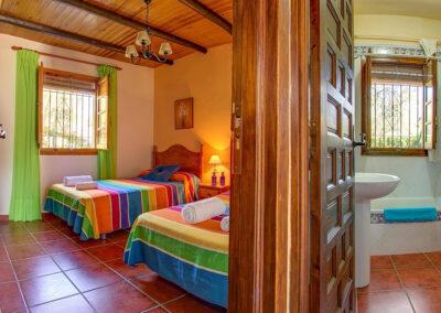 Bedroom #2 at Casa Buganvilla, Órgiva