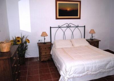Bedroom #1 at Casa de la Monja, Villanueva de la Concepción