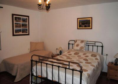Bedroom #3 at Casa de la Monja, Villanueva de la Concepción