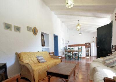Living area #2 at Casa El Cielo, Almogía