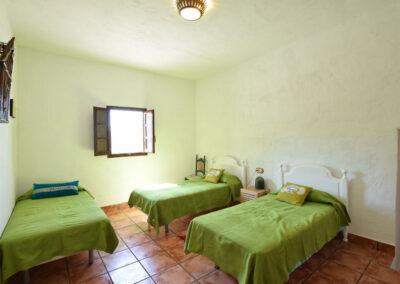 Bedroom #1 at Casa El Cielo, Almogía