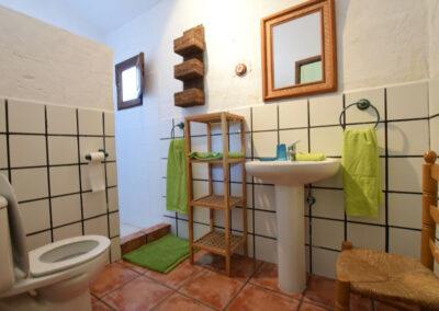 Bedroom #3 en-suite at Casa El Cielo, Almogía