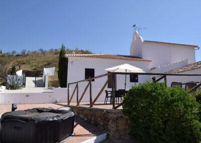 The hot tub at Casa El Cielo, Almogía