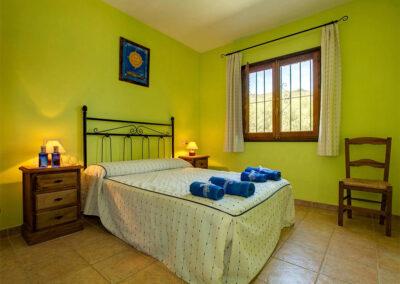 Bedroom #1 at Casa El Valle, Órgiva