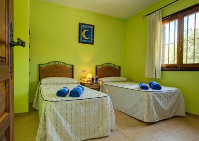 Bedroom #2 at Casa El Valle, Órgiva