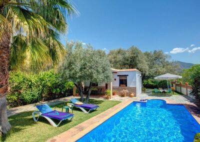 The swimming pool at Casa Encantadora, Órgiva
