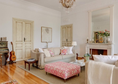 The living area at Casa Feliz, Frigiliana