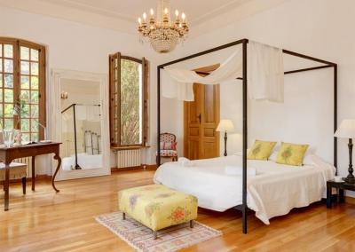 Bedroom #1 at Casa Feliz, Frigiliana