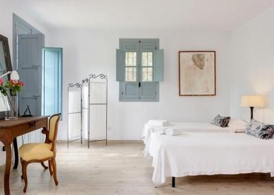 Bedroom #2 at Casa Feliz, Frigiliana