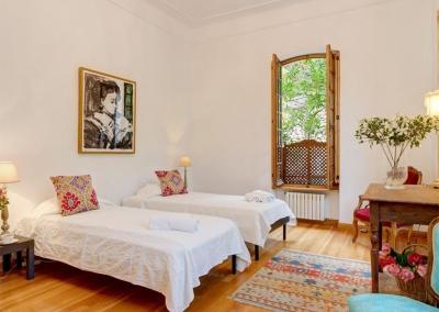 Bedroom #3 at Casa Feliz, Frigiliana