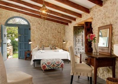 Bedroom #5 at Casa Feliz, Frigiliana