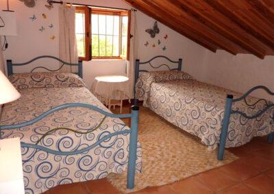 Bedroom #2 at Casa La Palmera, Arroyo Coche