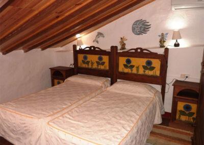 Bedroom #3 at Casa La Palmera, Arroyo Coche