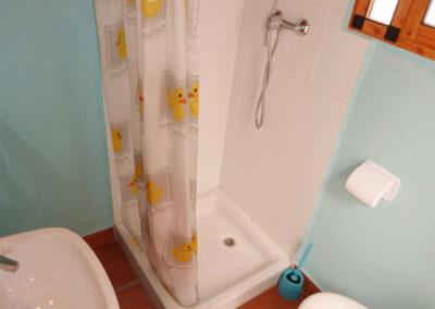 The bathroom at Casa La Palmera, Arroyo Coche