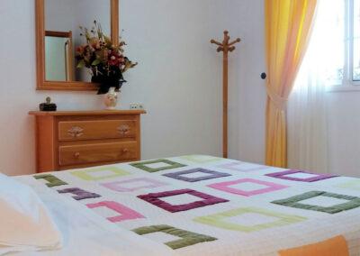 Bedroom #1 at Casa Los Lirios, Villanueva de la Concepción