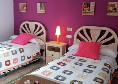 Bedroom #2 at Casa Los Lirios, Villanueva de la Concepción