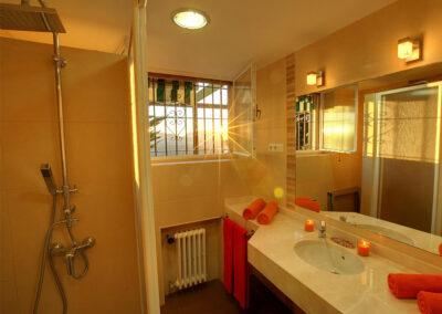Shower room #1 at Casa Rilke, Ronda