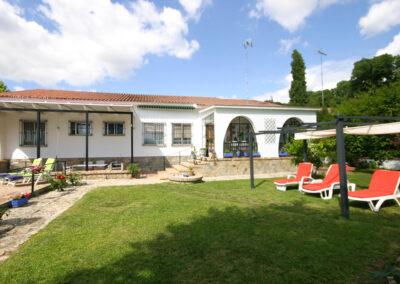 The garden at Casa Rilke, Ronda