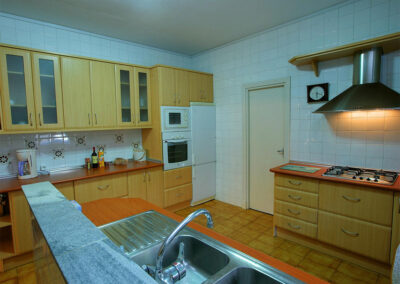 The kitchen at Casa Rilke, Ronda