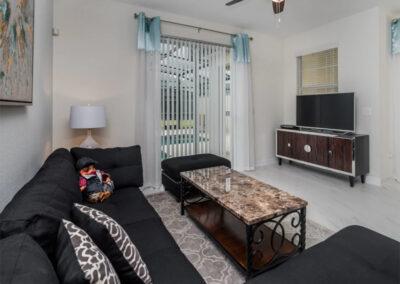 The living area at Championsgate 229, Davenport, Orlando