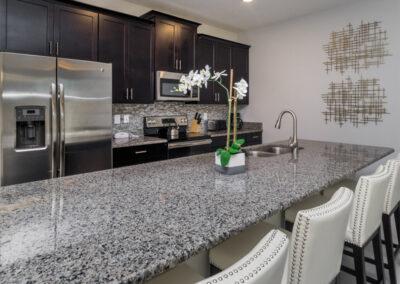 The kitchen at Championsgate 229, Davenport, Orlando