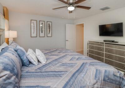 Bedroom #2 at Championsgate 229, Davenport, Orlando