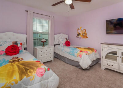 Bedroom #4 at Championsgate 229, Davenport, Orlando