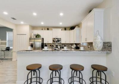 The kitchen at Championsgate 84, Davenport