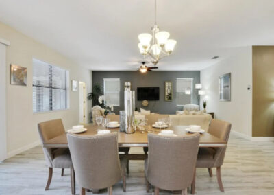 The dining area at Championsgate 84, Davenport