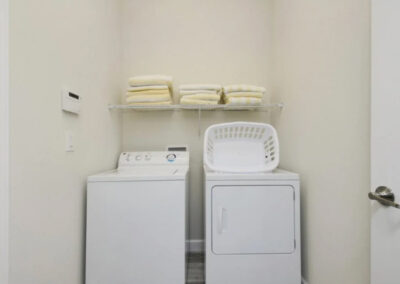 The laundry room at Championsgate 84, Davenport