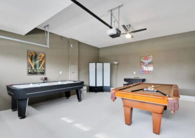 The games room at Championsgate 84, Davenport