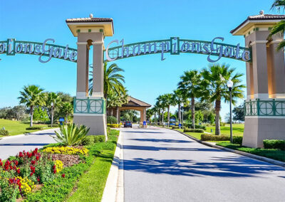 The entrance to Championsgate, Davenport