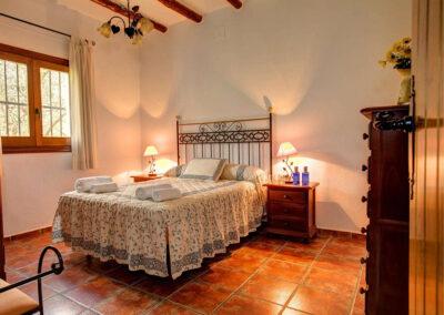 Bedroom #1 at Cortijo Las Gallinas, Órgiva