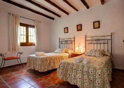 Bedroom #2 at Cortijo Las Gallinas, Órgiva