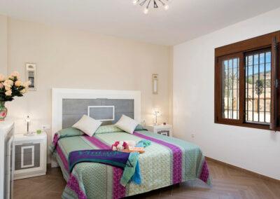 Bedroom #1 at El Dolmen de Alaju, El Gastor