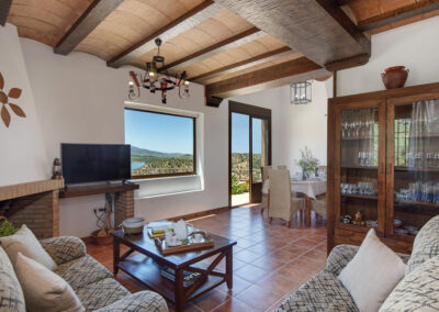 The living area at El Huertecillo, El Gastor