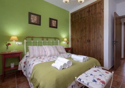 Bedroom #1 at El Huertecillo, El Gastor