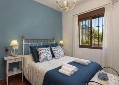Bedroom #2 at El Huertecillo, El Gastor