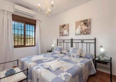 Bedroom #3 at El Huertecillo, El Gastor