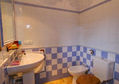 Bedroom #1 en-suite at El Nogal, Ronda