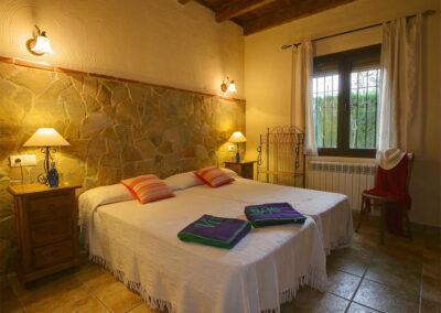 Bedroom #2 at El Nogal, Ronda