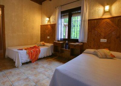 Bedroom #3 at El Nogal, Ronda
