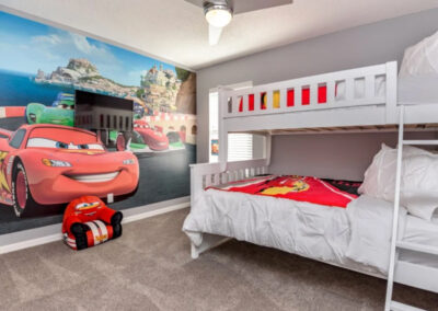 Bedroom #3 at Emerald Island Resort 13, Kissimmee